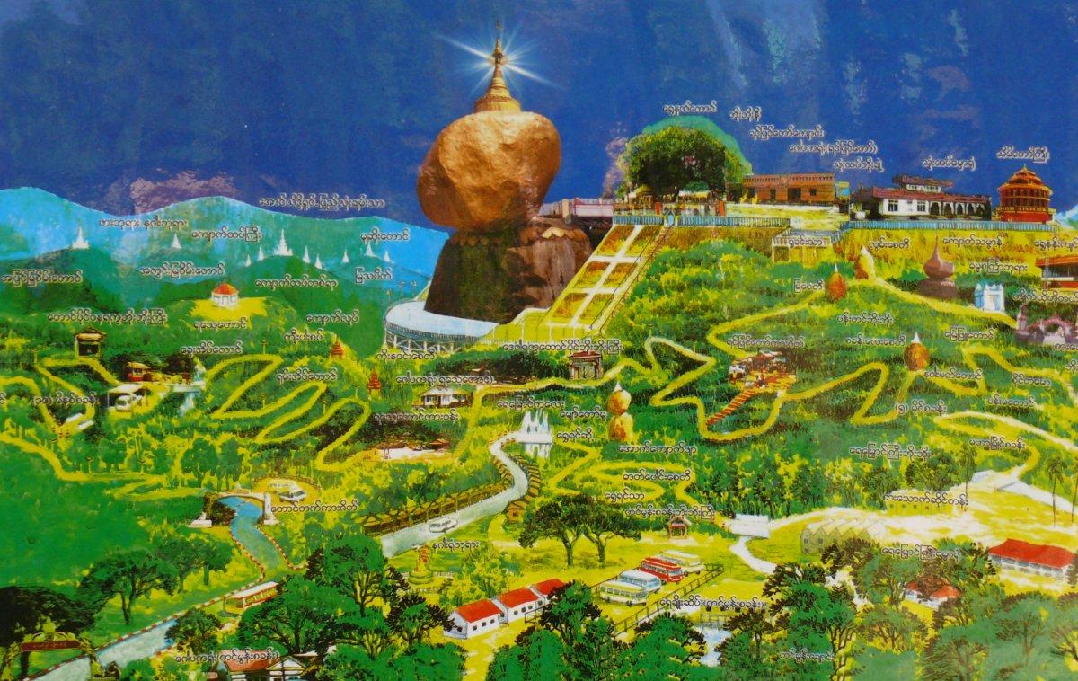 Barma - krása s pachutí bolesti, díl 8. BLÝSKAVÝ GOLDEN ROCK