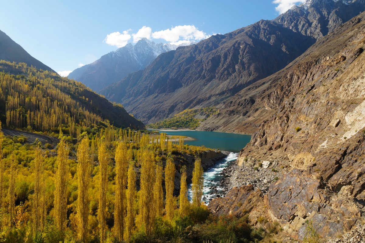 Destination Pákistán