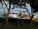 Andamany - Loď