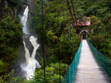 Mountain river and waterfall in the Andes (Ekvádor, Dreamstime)