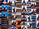 Tapestry at the market of Otavalo (Ekvádor, Dreamstime)