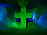 Kolumbie,  Cross at the Salt Cathedral (Kolumbie, Dreamstime)