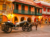 Kolumbie, Cartagena, Plaza de los Coches (Kolumbie, Dreamstime)