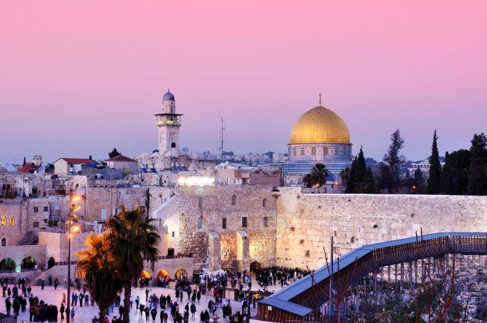 Jeruzalém (Izrael, Shutterstock)