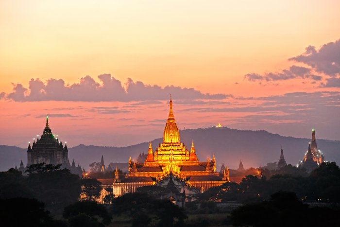 Bagan (Barma, Shutterstock)