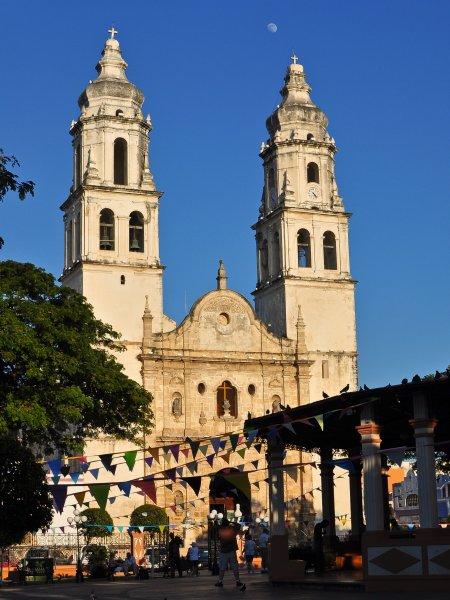katedrála, Campeche (Mexiko, Shutterstock)