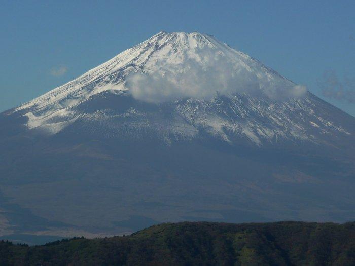 Fudži - od června 2013 je nejnovější japonskou památkou na seznamu UNESCO (Japonsko, Mgr. Hana Dušáková)