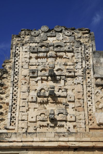 Kabah, bůh Chaac (Mexiko, Luděk Felcan)