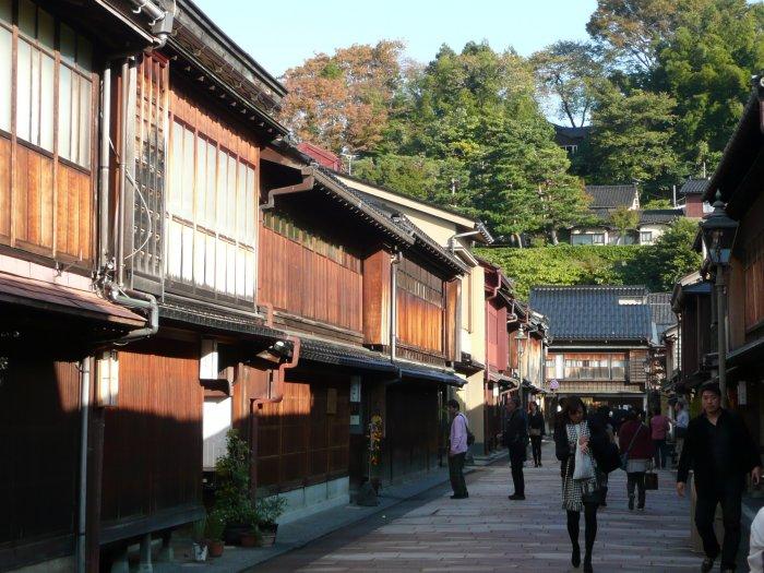 historické město Kanazawa (Japonsko, Mgr. Hana Dušáková)