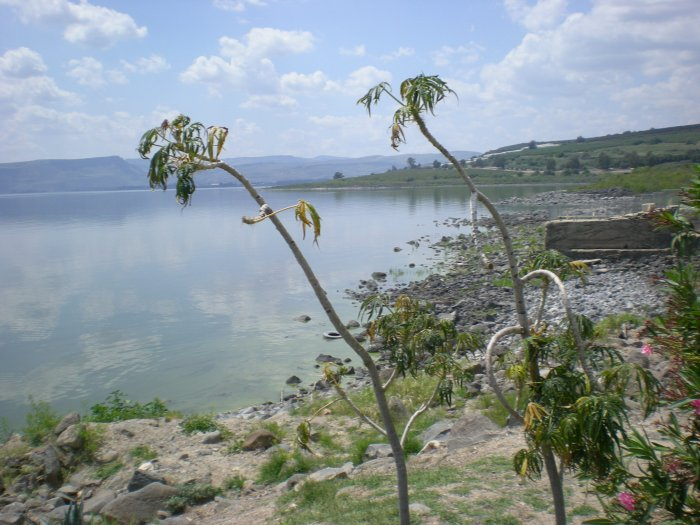 Galilejské jezero (Izrael, Katarina Maruškinová)