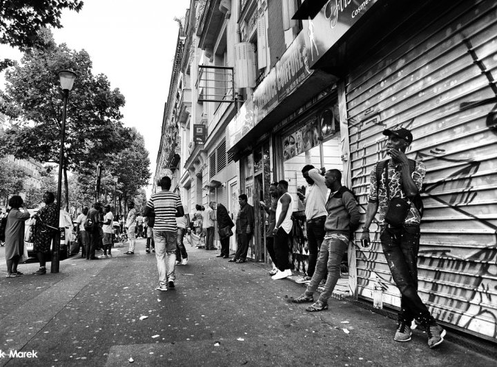 Paříž – příjezd