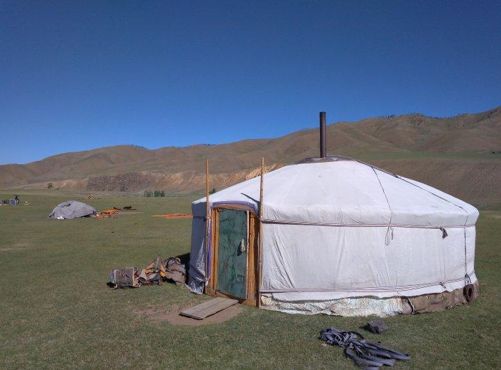 Fotoreportáž z Mongolska